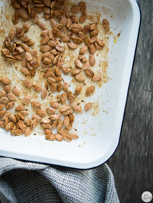 roasted tamari pumpkin seeds
