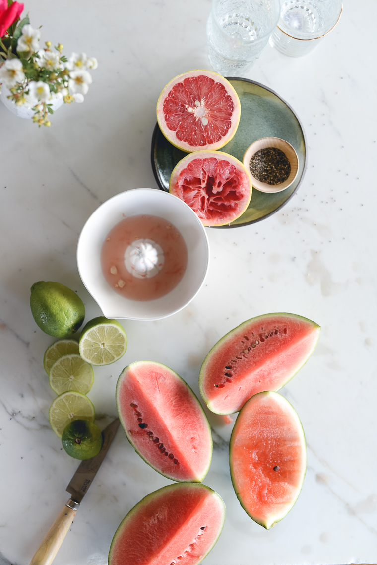 Watermelon Lime Fresca
